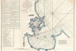 Mappa di Trincomalee (1775), Sri Lanka. Mannevillette, D'Apres de, Le Neptune Oriental, 1775