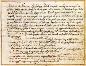 Mascate (1).Text of the document from Prof. Rui Carita Lyvro de Plantaforma das Fortalezas da Índia