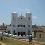 Meera Mosque built in 1904, Dutch Fort, Galle, Sri Lanka. Author and Copyright Dietrich Köster
