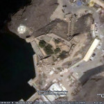 The Portuguese Fort of Jalali (São João), Muscat, Oman. Google Earth