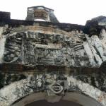 Porta de Santiago, Malacca, Malaysia. Author and Copyright Krzysztof Kudlek