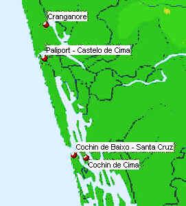 Portuguese Cochin and environs. Author Marco Ramerini