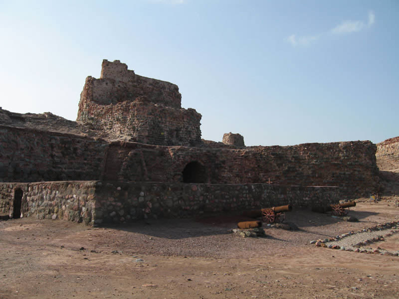 Portuguese Fort, Hormuz, Iran. Author Fariborz. No Copyright