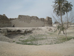 Portuguese Fort, Qeshm, Iran. Author Alborz Fallah. Licensed under the Creative Commons Attribution-Share Alike