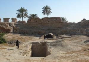 Portuguese Fort, Qeshm, Iran. Author Fariborz. No Copyright