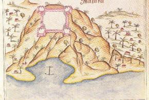 Portuguese fort of Matarâ (Matrah) from Prof. Rui Carita Lyvro de Plantaforma das Fortalezas da Índia