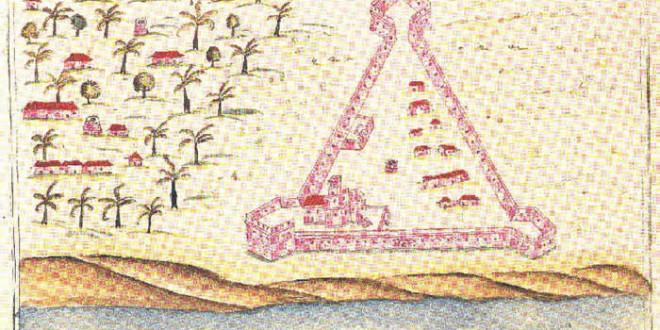 Portuguese fort of Sibo from Prof. Rui Carita Lyvro de Plantaforma das Fortalezas da Índia