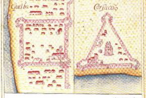 Portuguese forts of Quelba and Corfacão from Prof. Rui Carita Lyvro de Plantaforma das Fortalezas da Índia