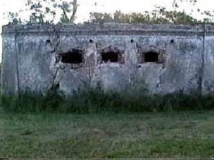 Prison ruins, Isle of Pines, New Caledonia. Author and Copyright Marco Ramerini