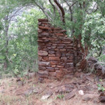 Ruins of the early settlers house Makaha, Zimbabwe. Photo © by Chris Dunbar. ,