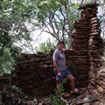 Ruins of the early settlers house Makaha, Zimbabwe. Photo © by Chris Dunbar,.,,