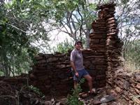 Ruins of the early settlers house Makaha, Zimbabwe. Photo © by Chris Dunbar,.,,
