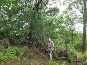Schist walls at Shona site. Makaha, Zimbabwe. Photo © by Chris Dunbar (3)
