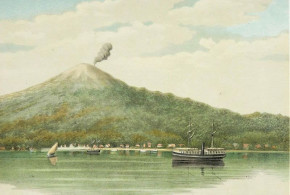 Ternate (1883-1889), Molucas, Indonésia. Autor Tropenmuseum of the Royal Tropical Institute (KIT). Licensed under the Creative Commons Attribution-Share Alike