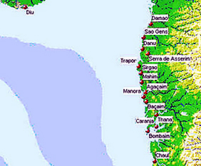 The Portuguese settlements in the Northern Province. Author Marco Ramerini