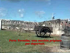 The perimeter of the walls. Fort Teremba, Grande Terre, New Caledonia. Author and Copyright Marco Ramerini