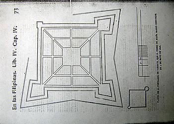 "The plan of the Fuerza Nueva. Colin-Pastells ""Labor Evangelica"" vol. III p. 73"