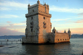 Torre de Belem, Lissabon, Portugal. Auteur Daniel Feliciano. Licensed under the Creative Commons Attribution-Share Alike