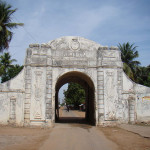 Town Gateway, Tranquebar, India. Author Murali Poduval. Licensed under the Creative Commons Attribution-Share Alike