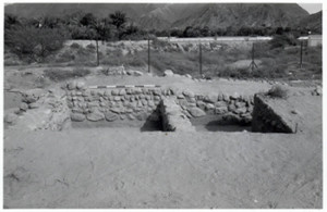 Trenches H and J, Portuguese Fort, Bidyah, United Arab Emirates (photo © by Michele Ziolkowski).