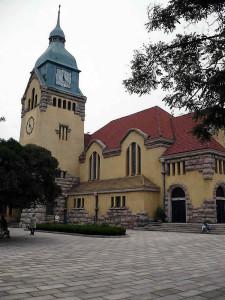 3. Evangelische Christuskirche, 1910 eingeweiht (copyright2007Dietrich Köster)
