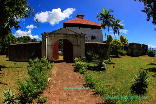Fort Amsterdam, Ambon, Indonesia. Author and Copyright Simon Pratt