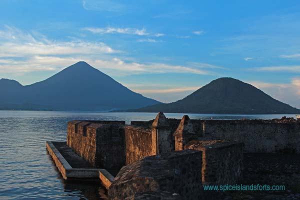 Fort Kayu Merah, Ternate, Indonesia. Author and Copyright Simon Pratt