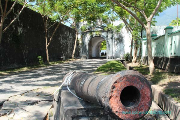 Fort Orange, Ternate, Indonesia. Author and Copyright Simon Pratt