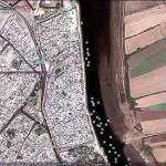 Azamor fort, Morocco. Google Earth