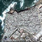 Essaouira fortress, Morocco. Google Earth