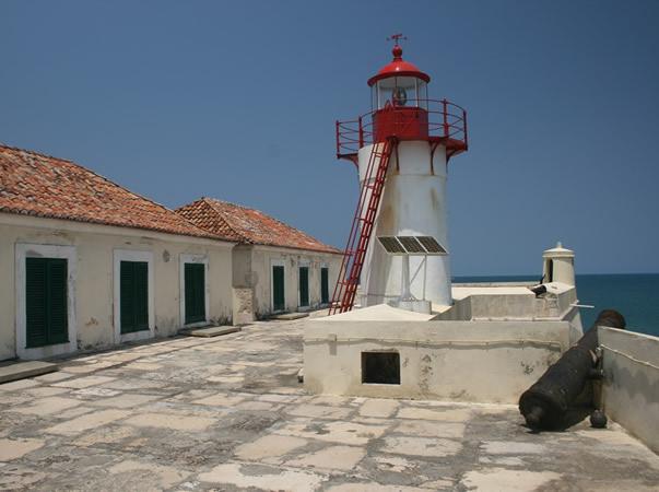 Fort São Sebastião, São Tomé. Author and Copyright João Sarmento.