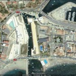 Fortaleza de Ceuta, Spanish Africa. Google Earth
