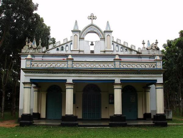 The Church of St. Nicholas Tolentino, Nagori. Copyright Stefan Halikowski Smith